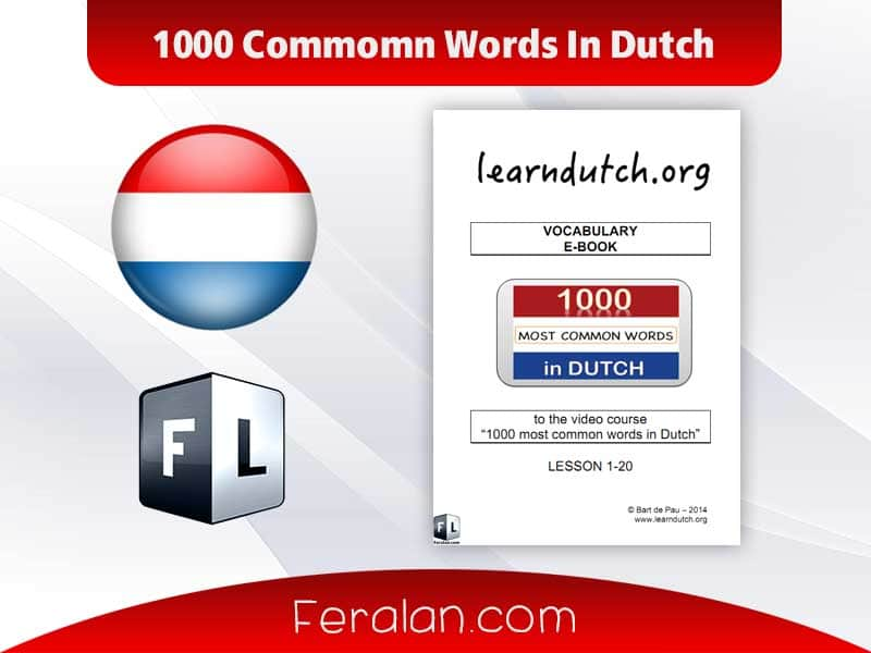 دانلود کتاب 1000 Commomn Words In Dutch