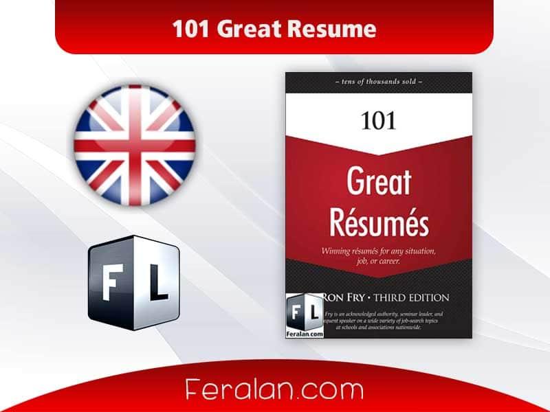 دانلود کتاب 101 Great Resume