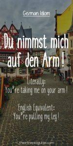 German Idioms And Proverbs