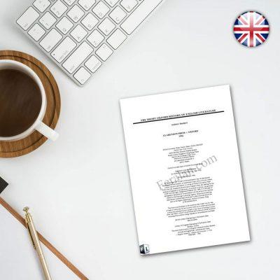 کتاب The Short Oxford History of English Literature