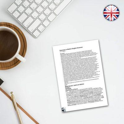 کتاب Exercises in Modern English Grammar