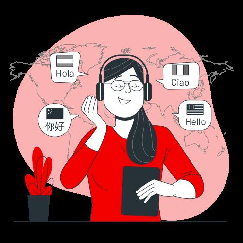 یادگیری آنلاین زبان با فرالن