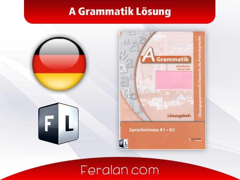 A Grammatik Lösung