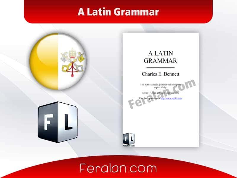 دانلود کتاب A Latin Grammar