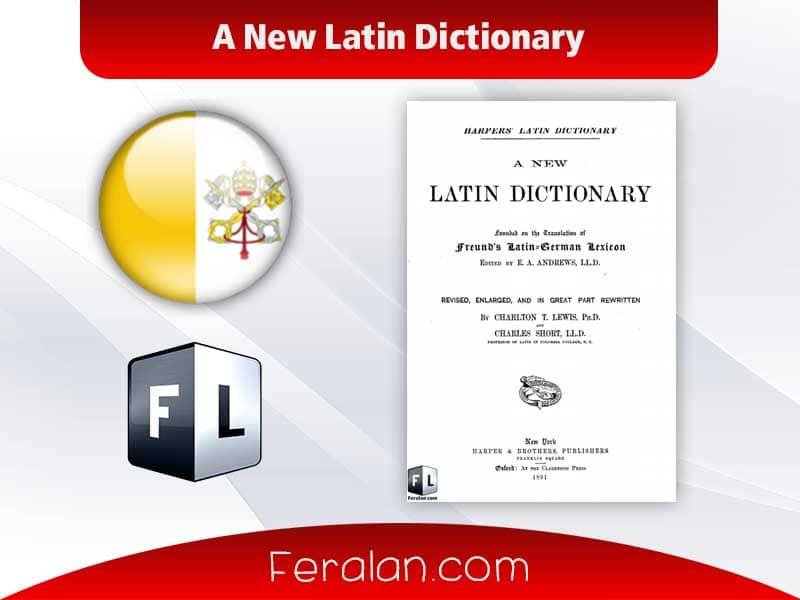 دانلود کتاب A New Latin Dictionary