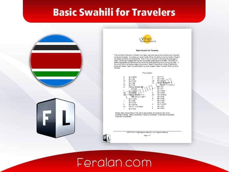 Basic Swahili for Travelers
