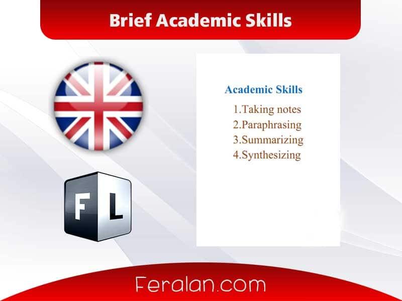 Brief Academic Skills