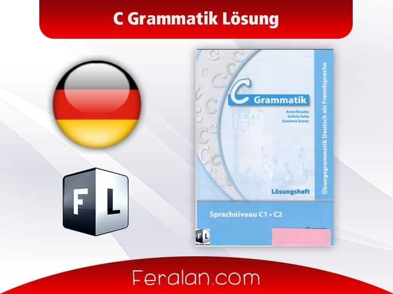 دانلود کتاب C Grammatik Lösung