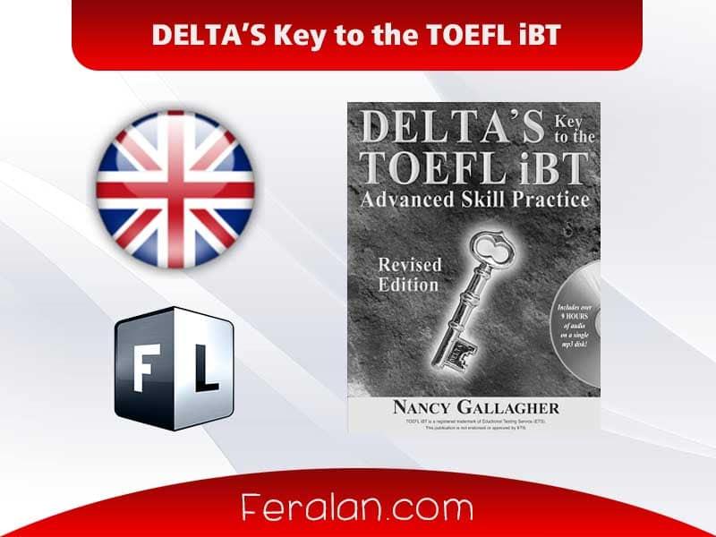 دانلود کتاب DELTA'S Key to the TOEFL iBT