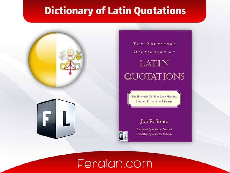 دانلود کتاب Dictionary of Latin Quotations