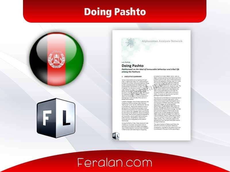Doing Pashto