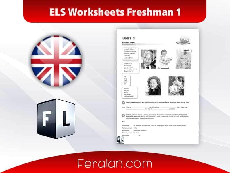 ELS Worksheets Freshman 1
