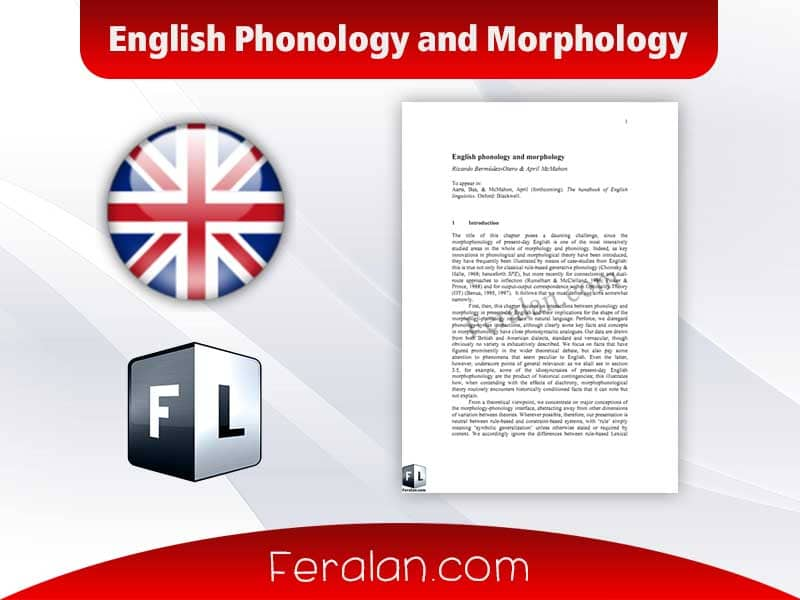 English Phonology and Morphology