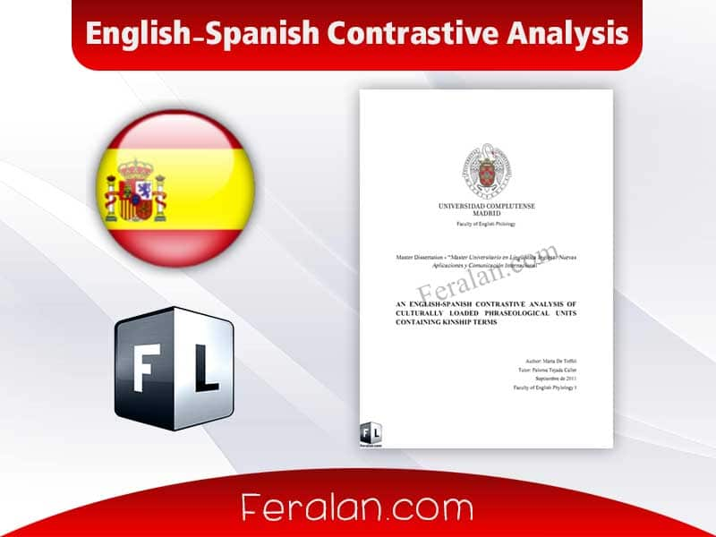 English-Spanish Contrastive Analysis