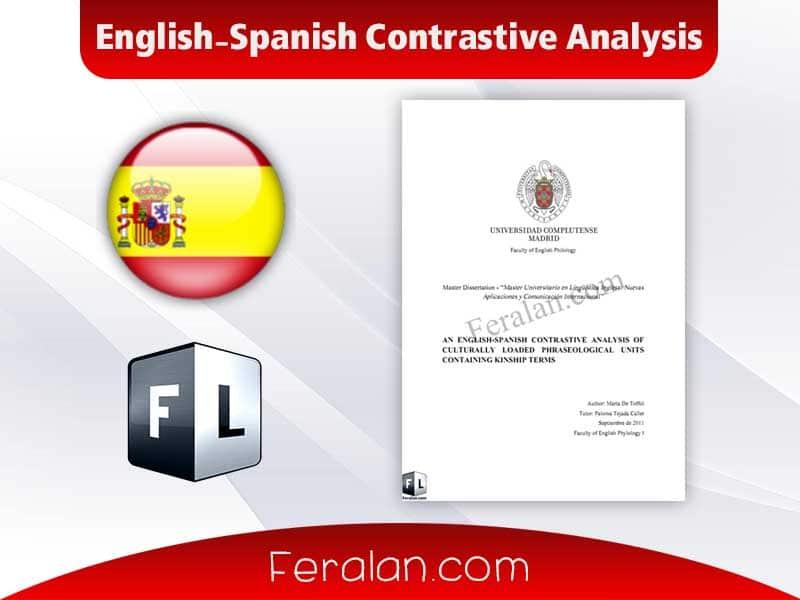 دانلود کتاب English-Spanish Contrastive Analysis