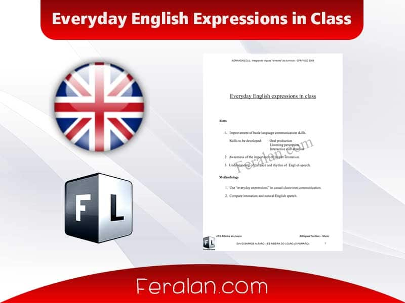 Everyday English Expressions in Class