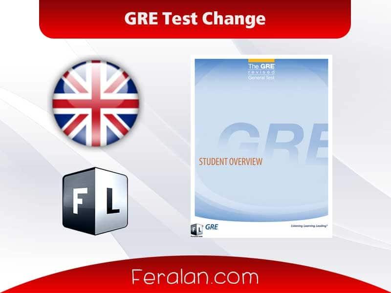 GRE Test Change