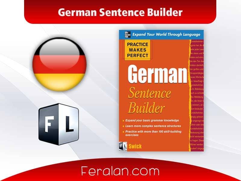 دانلود کتتاب German Sentence Builder