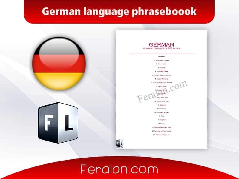 دانلود کتاب German language phraseboook