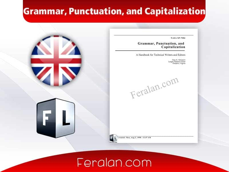 Grammar, Punctuation, and Capitalization