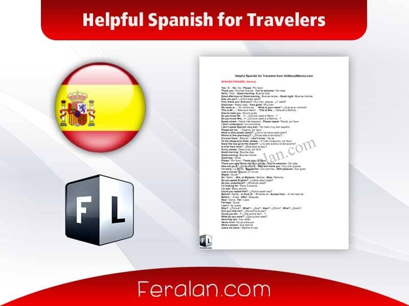 دانلود کتاب Helpful Spanish for Travelers