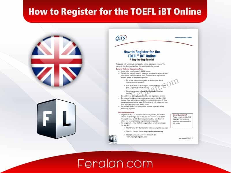 How to Register for the TOEFL iBT Online