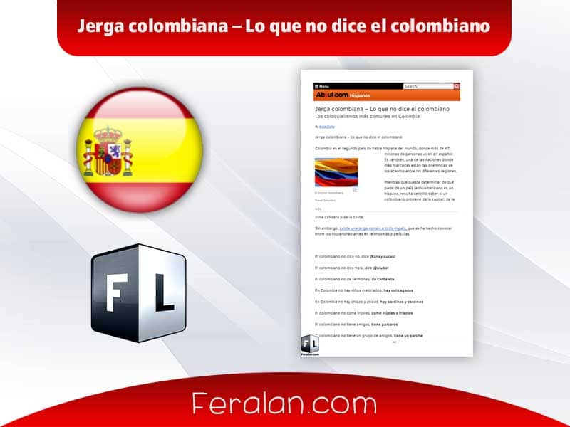 دانلود کتاب Jerga colombiana – Lo que no dice el colombiano