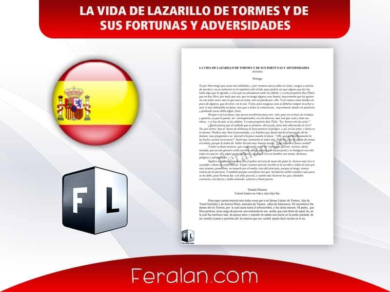 دانلود کتاب LA VIDA DE LAZARILLO DE TORMES Y DE  SUS FORTUNAS Y ADVERSIDADES
