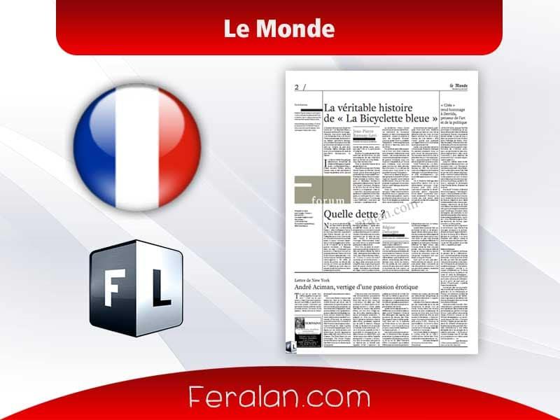 دانلود مجله Le Monde Des Livres
