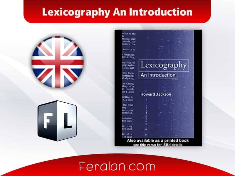Lexicography An Introduction