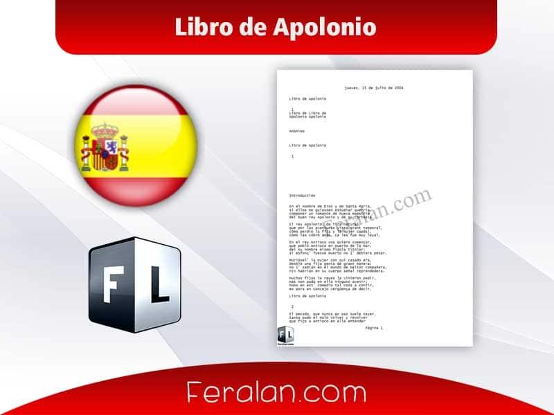 Libro de Apolonio