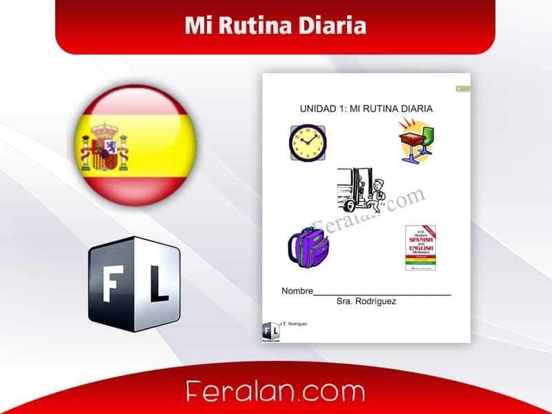 دانلود کتاب Mi Rutina Diaria
