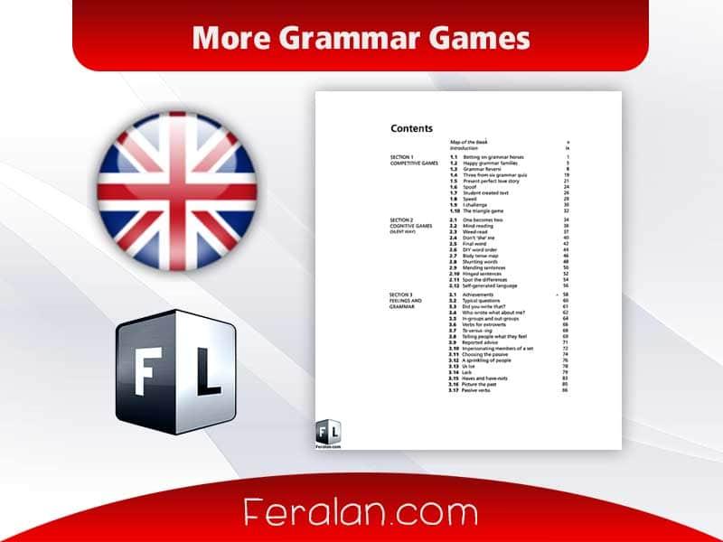More Grammar Games