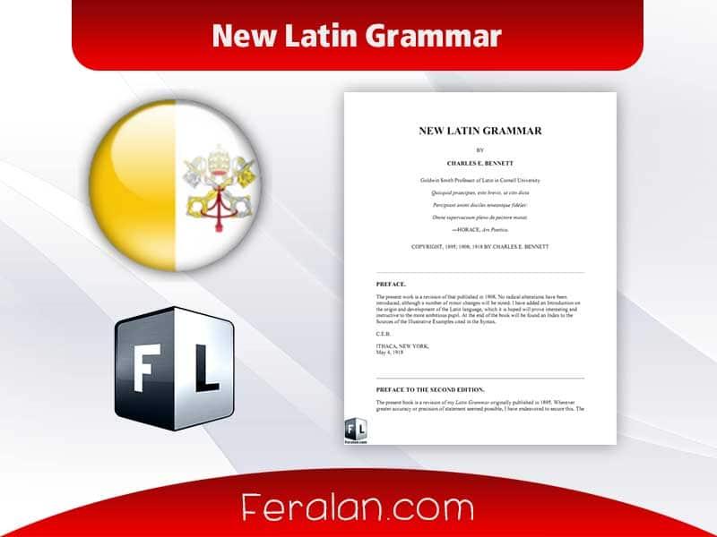 دانلود کتاب New Latin Grammar