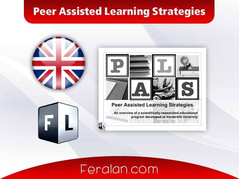 دانلود مقاله Peer Assisted Learning Strategies