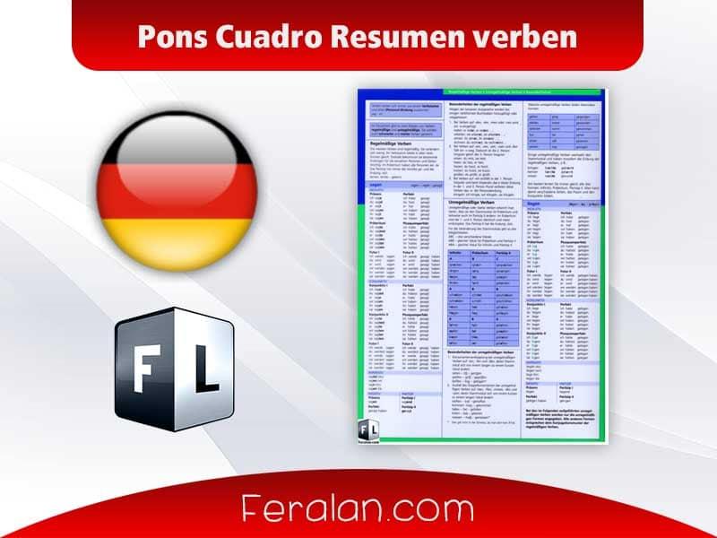 Pons Cuadro Resumen verben