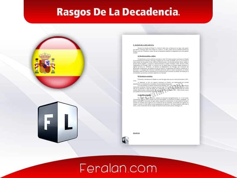 دانلود کتاب Rasgos De La Decadencia