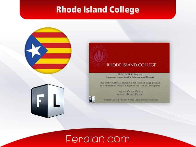 دانلود کتاب Rhode Island College
