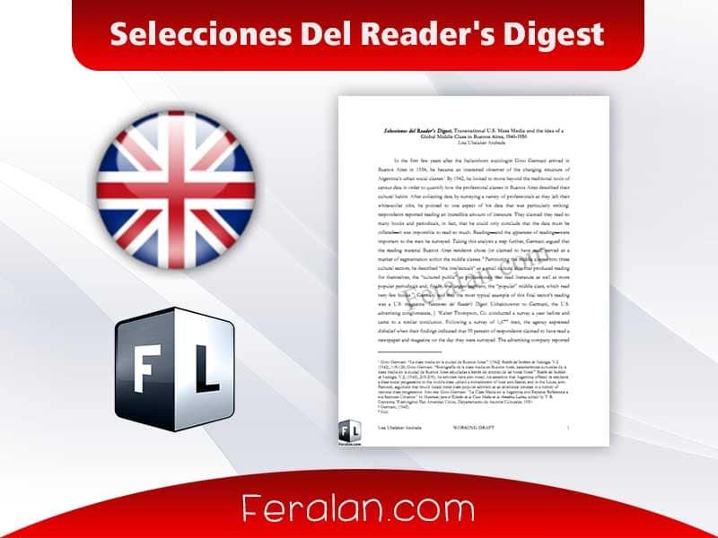 Selecciones Del Reader's Digest