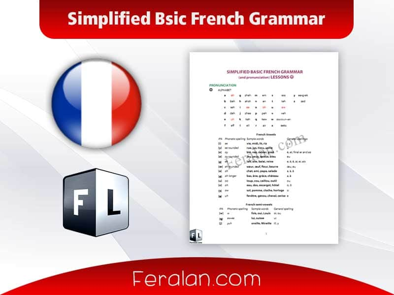 Simplified Bsic French Grammar
