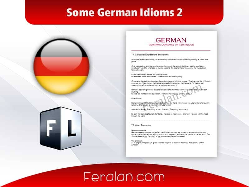 Some German Idioms 2