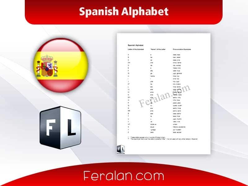دانلود کتاب Spanish Alphabet