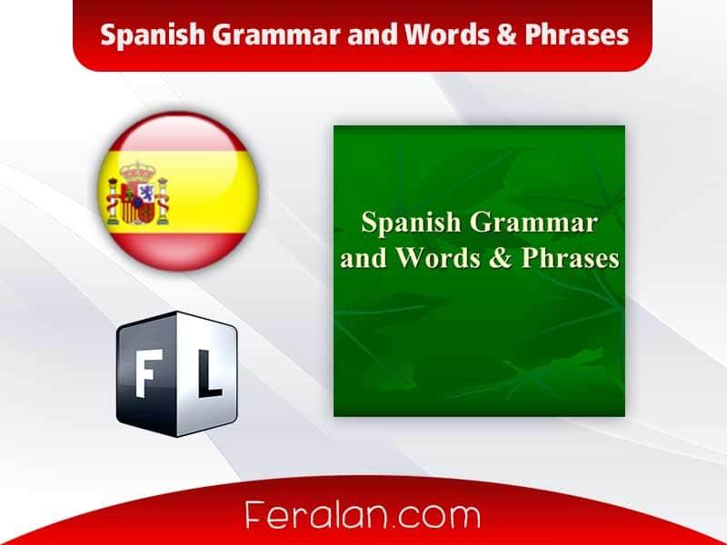 دانلود کتاب Spanish Grammar and Words & Phrases
