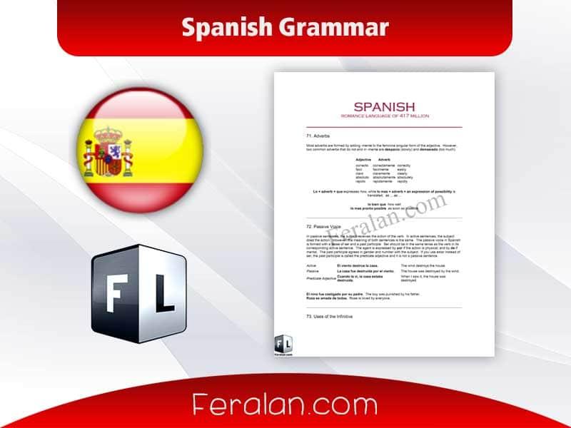 دانلود کتاب Spanish Grammar
