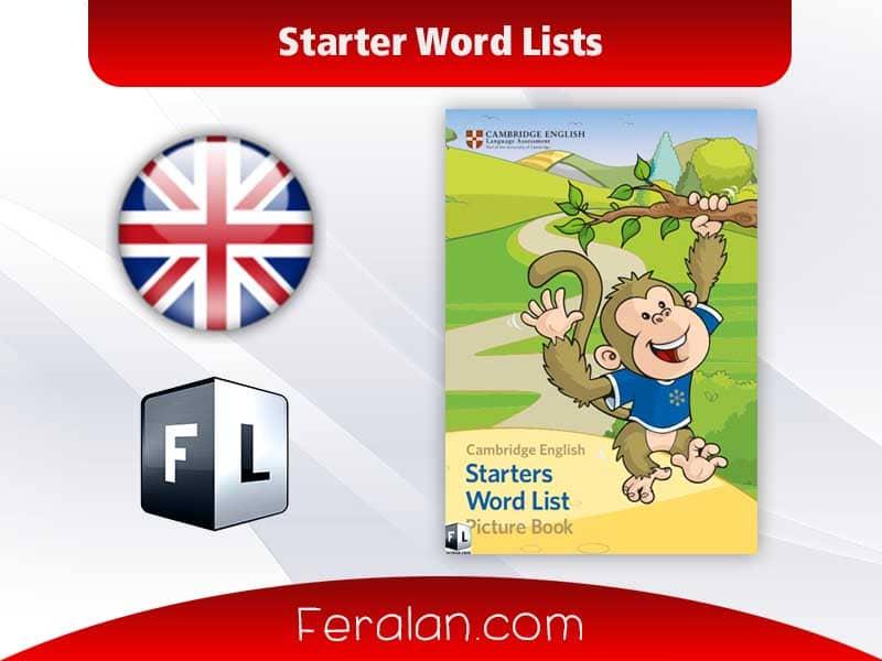Starter Word Lists