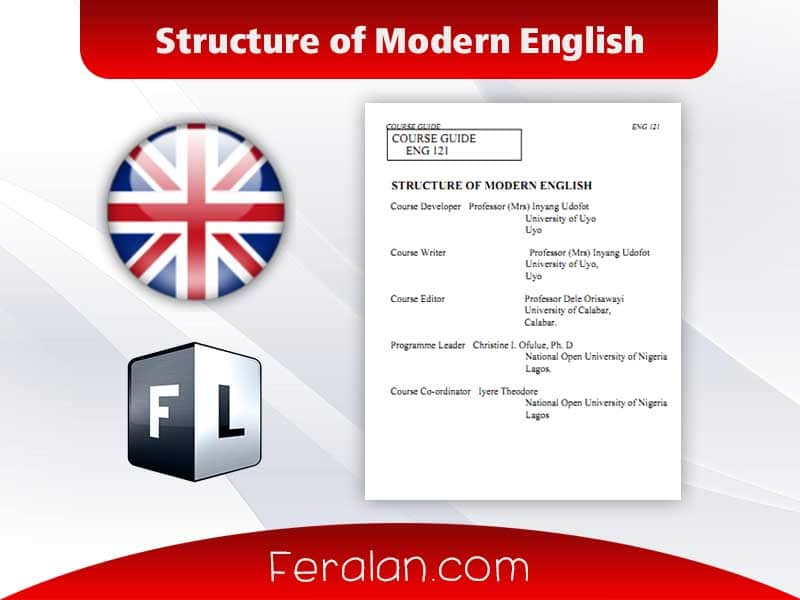 Structure of Modern English