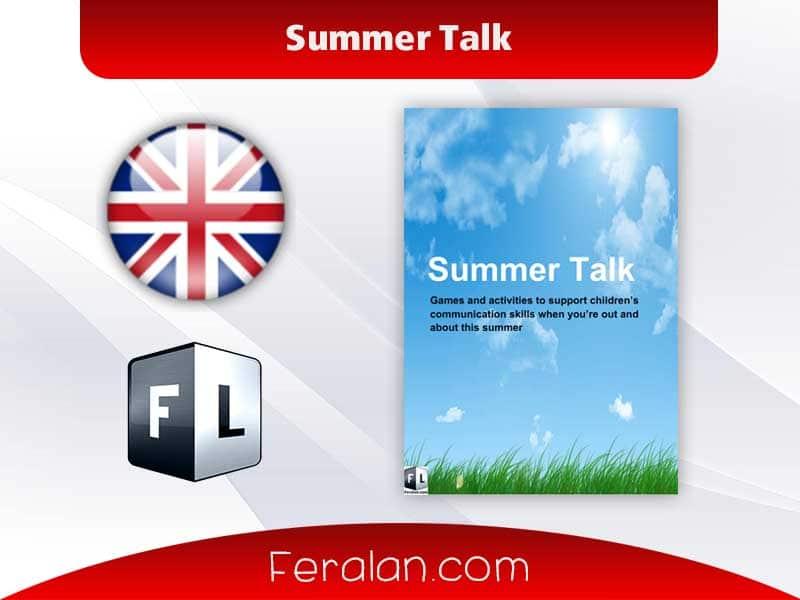 دانلود کتاب Summer Talk