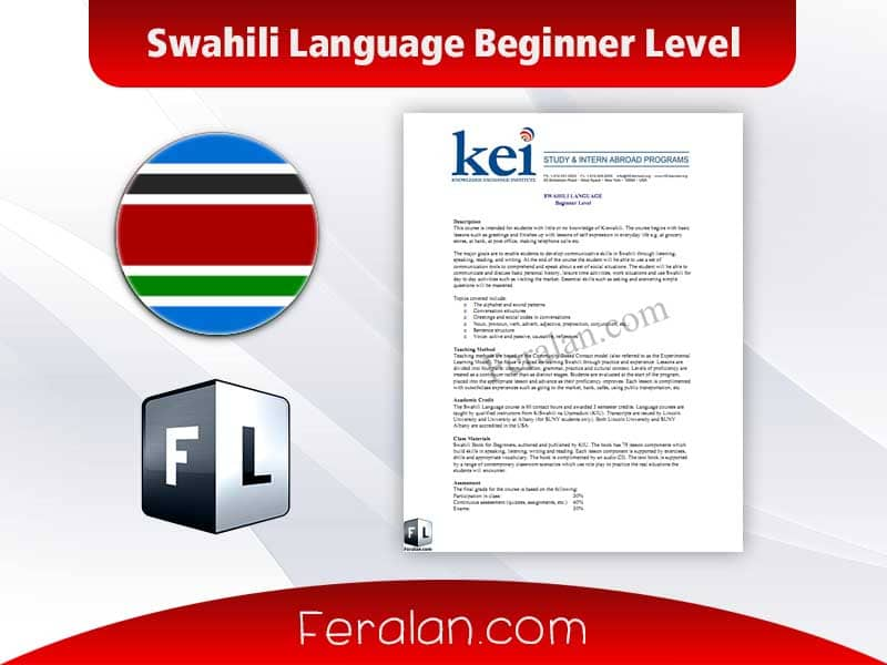 Swahili Language Beginner Level