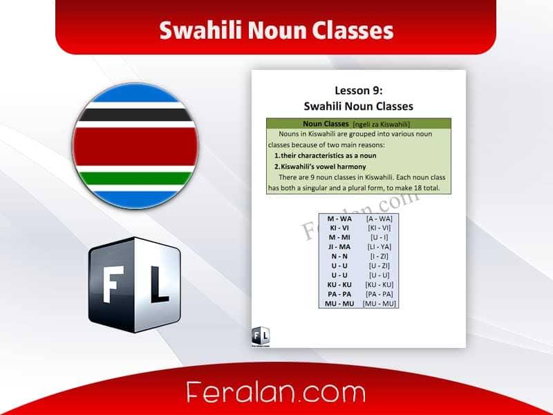 Swahili Noun Classes