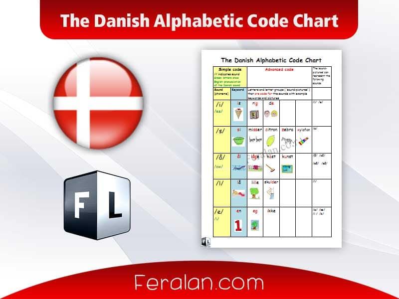 دانلود کتاب The Danish Alphabetic Code Chart